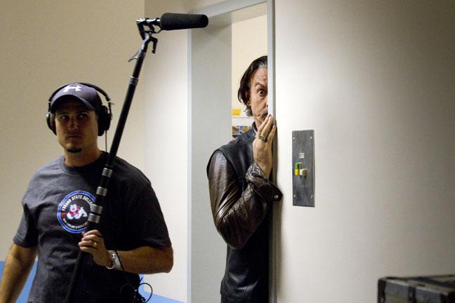 Boom mic operator