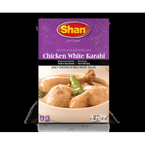 Shan Chicken White Karahi