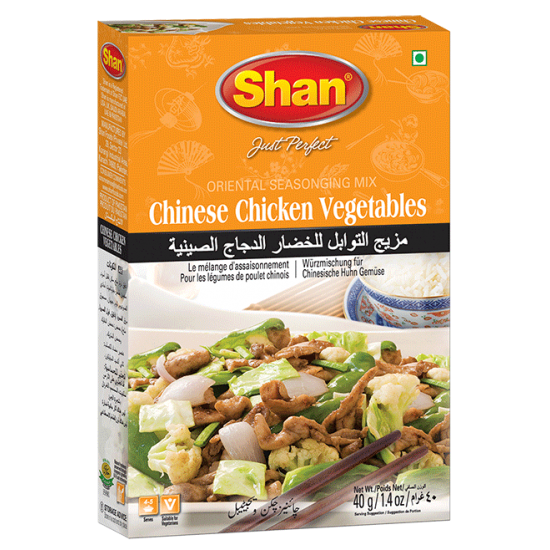 Shan Chinese Chicken Vegetables