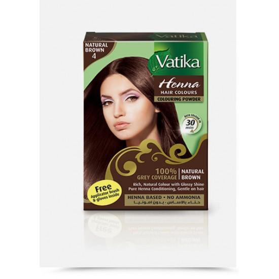 Vatika Henna Natural Brown