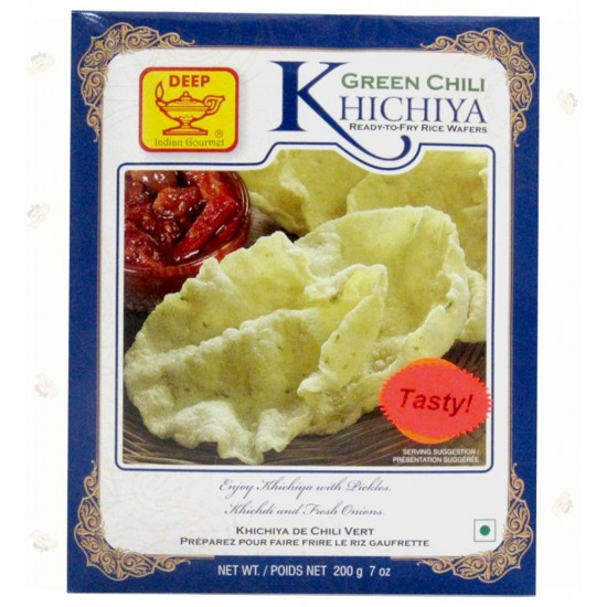 Deep Green Chili Khichiya 200g