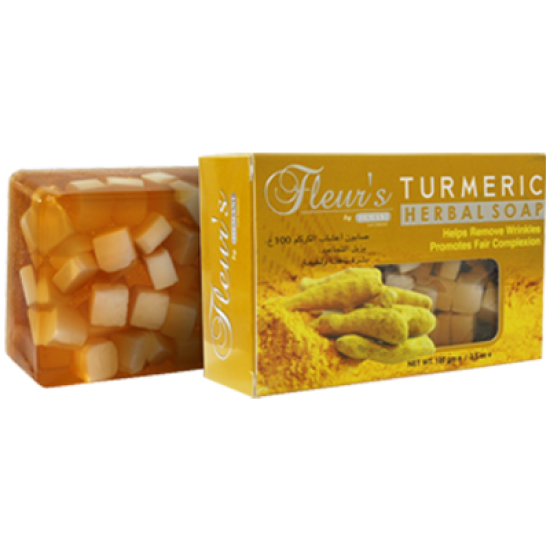 Fleurs Turmeric Herbal Soap -100g
