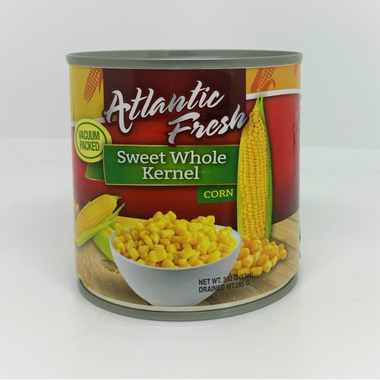 Atlantic Fresh Whole Kernel Corn -340g