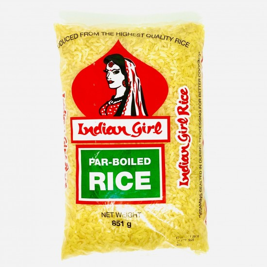 Indian Girl Par Boiled Rice -851g