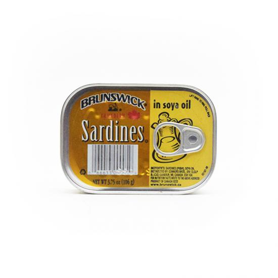 Brunswick Sardines in Soya Oil – 106g