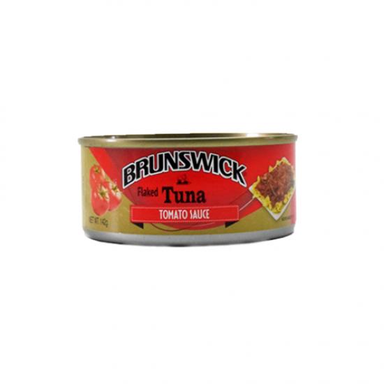 Brunswick Tuna Flaked w/ Tomato Sauce – 142g