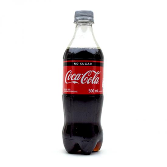 Coca Cola No Sugar -500ml