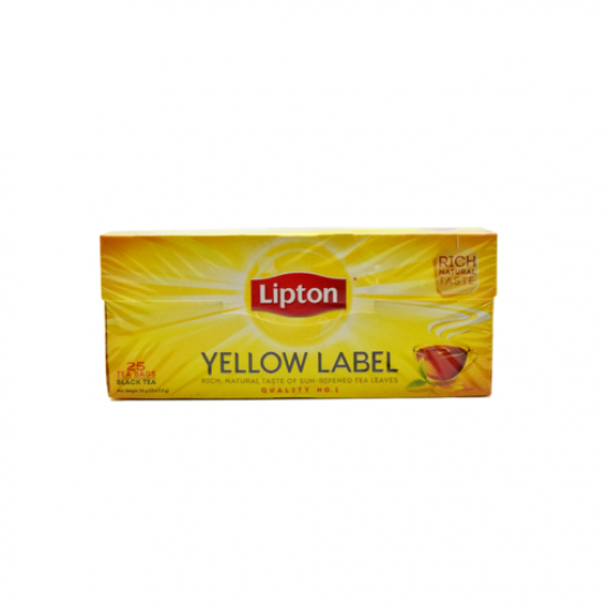 Lipton Yellow Label Black Tea -25s