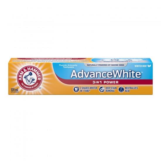 Arm & Hammer Advance White 3 in 1 Powder -120ml