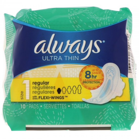 Always Ultra Thin Regular -10