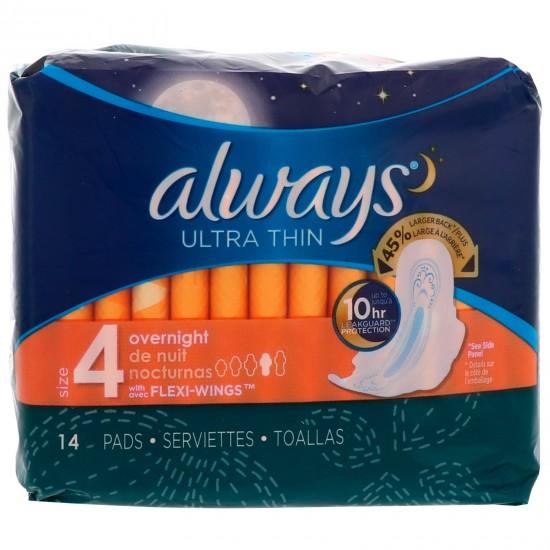 Always Ultra Thin Overnight -14