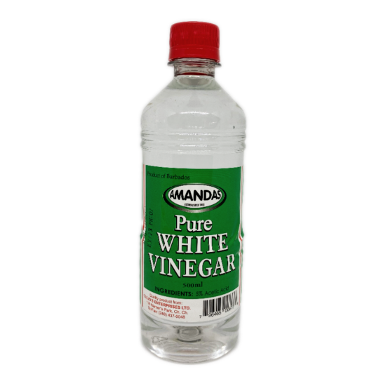 Amandas Pure White VInegar -500ml