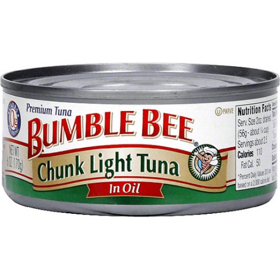 Bumble Bee Chunk Tuna In Oil -142g