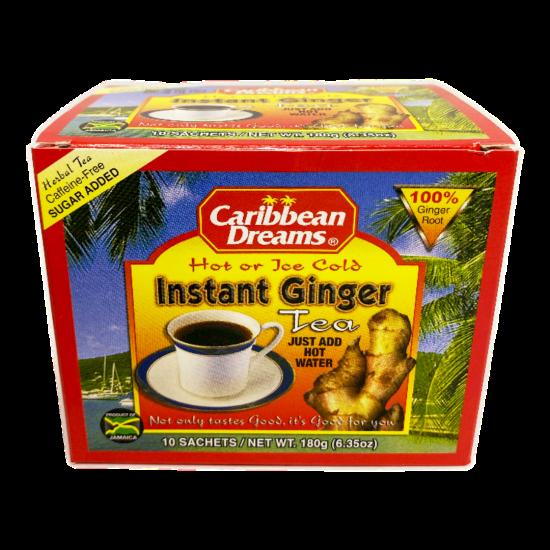 Caribbean Dreams Instant Ginger Tea Sugar -10