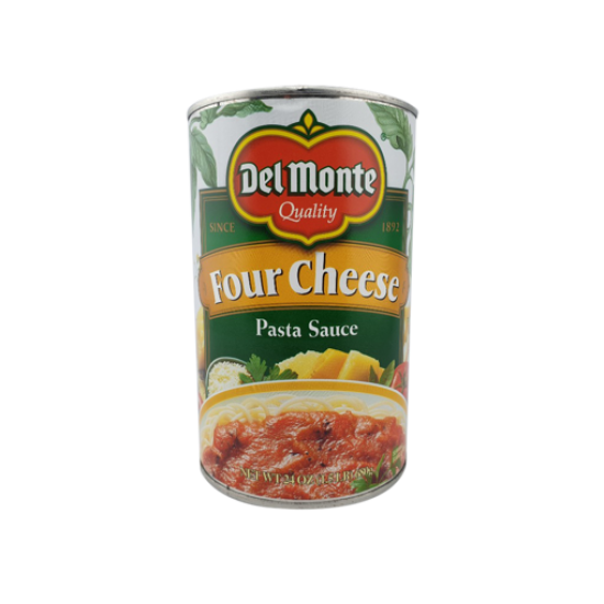Del Monte Four Cheese Pasta Sauce -24oz