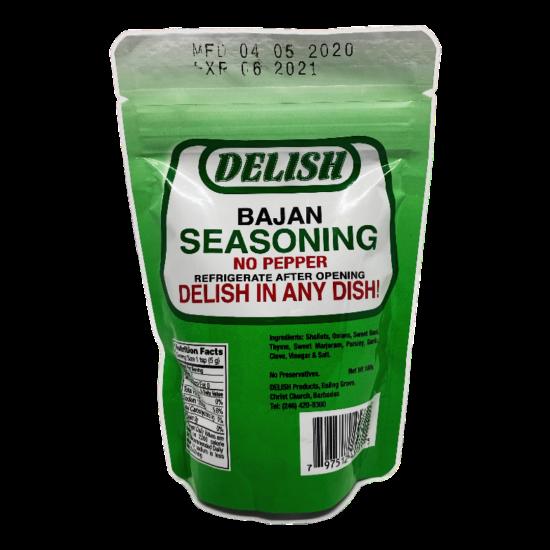 Delish Bajan Seasoning No Pepper-180g
