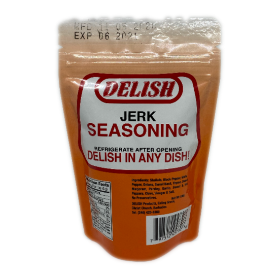 Delish Jerk Seasoning -180g