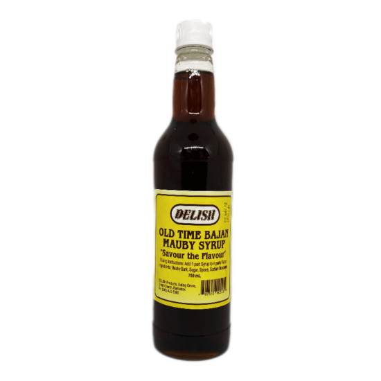 Delish Old Time Bajan Mauby Syrup -750ml
