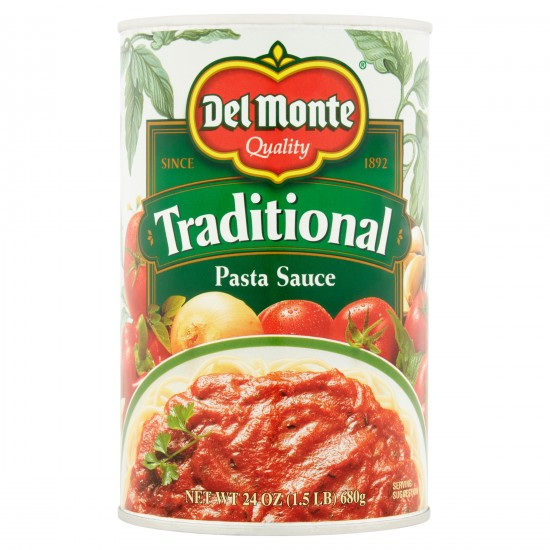 Del Monte Traditional Pasta Sauce -24oz
