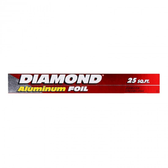Diamond Aluminum Foil -25sq.ft