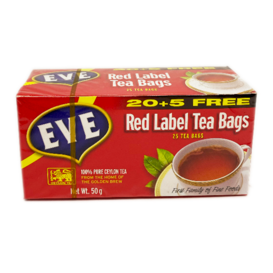Eve Red Label Tea Bags -20