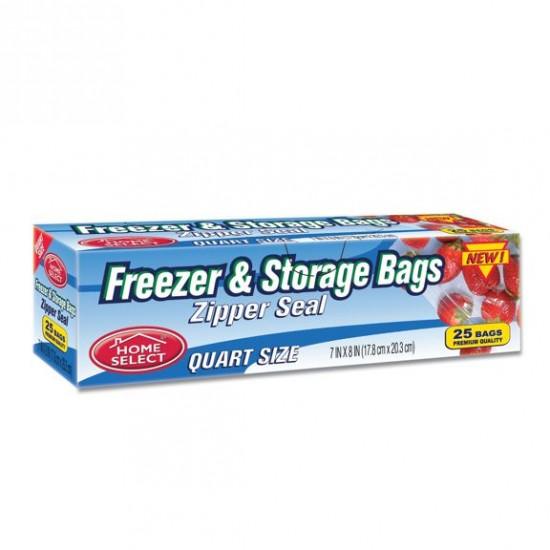 Home Select Freezer & Storage Zipper Bag -25