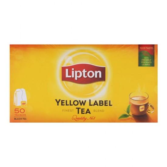Lipton Yellow Label Black Tea -50s