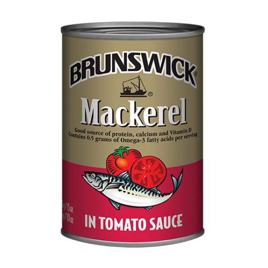 Brunswick Mackerel in Tomato Sauce -425g