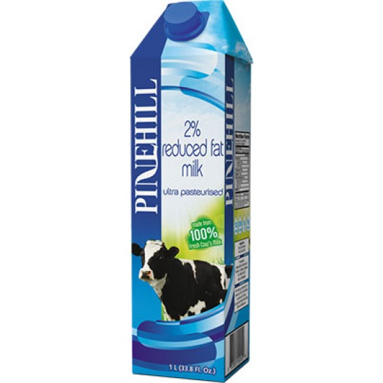 Pinehill 2% Reduced Fat Milk 1L