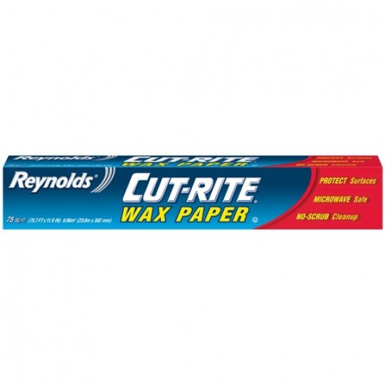 Reynolds Cut-Rite Wax Paper 75sq.ft