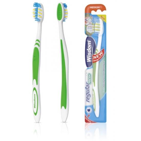 Wisdom Regular Fresh Medium Toothbrush