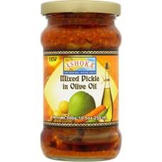 Ashoka Mixed Pickle in Virgin Olive Oil