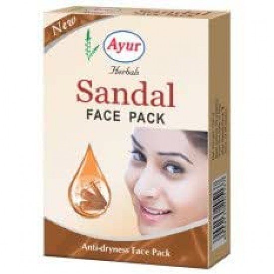 Ayur Herbal Sandal Face Pack