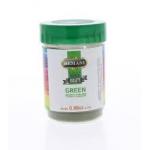 Green Food colour powder