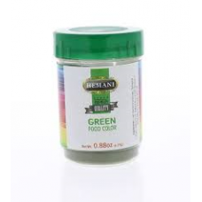 Green Food colour powder