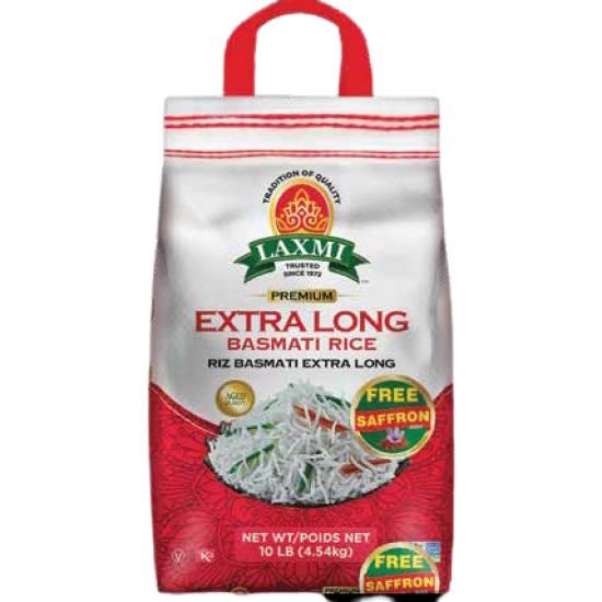 Laxmi Extra Long Basmati Rice 10lb