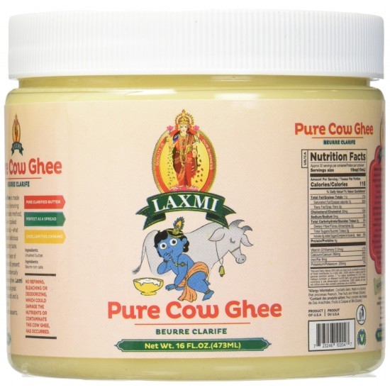 Laxmi Pure Cow Ghee 16oz