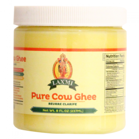 Laxmi Pure Cow Ghee 8oz