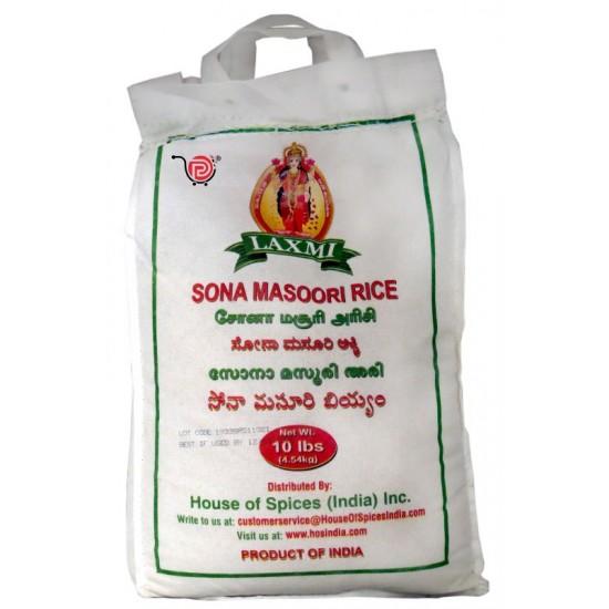Laxmi Sona Masoori Rice -10lb