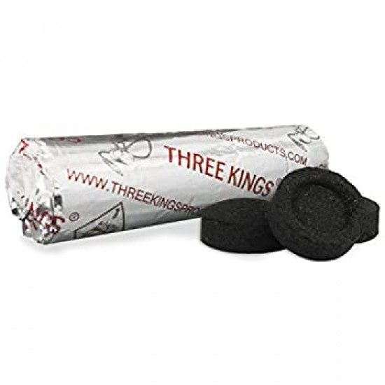 Three Kings Charcoal -33mm roll