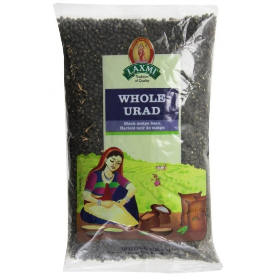 Urad Whole Black 2lb
