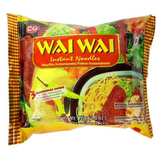 Wai Wai Chicken Noodles 65g