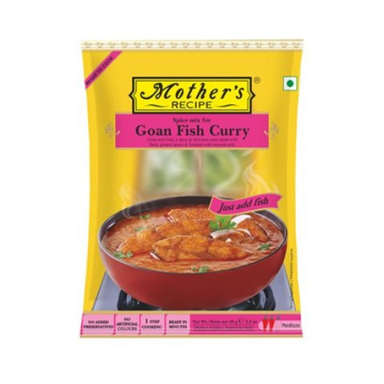 Mother's Goan Fish Curry Mix 80g
