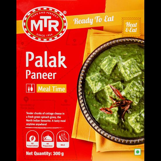 MTR RTE Palak Paneer