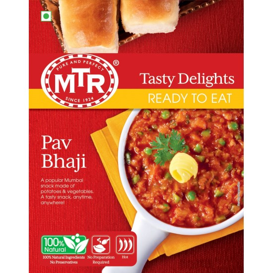 MTR RTE Pav Bhaji