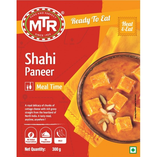 MTR RTE Shahi Paneer