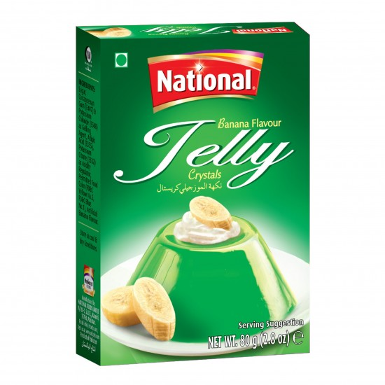 National Banana Jelly 80g