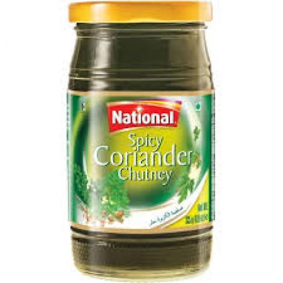 National Coriander Chutney -335g