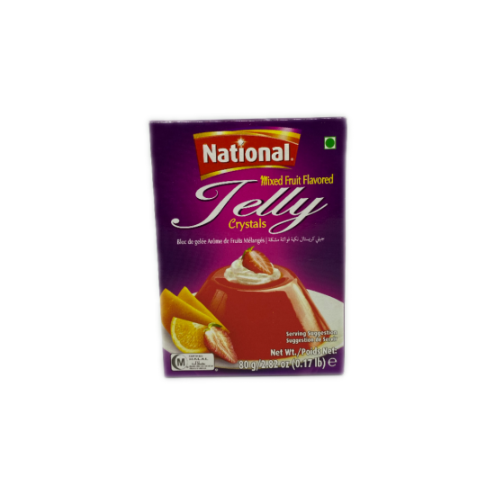National Mixed Fruit Jelly 80g