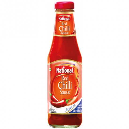 National Red Chilli Sauce 300g
